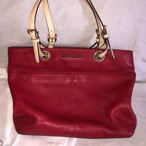 Michael Kors small red shoulder bag